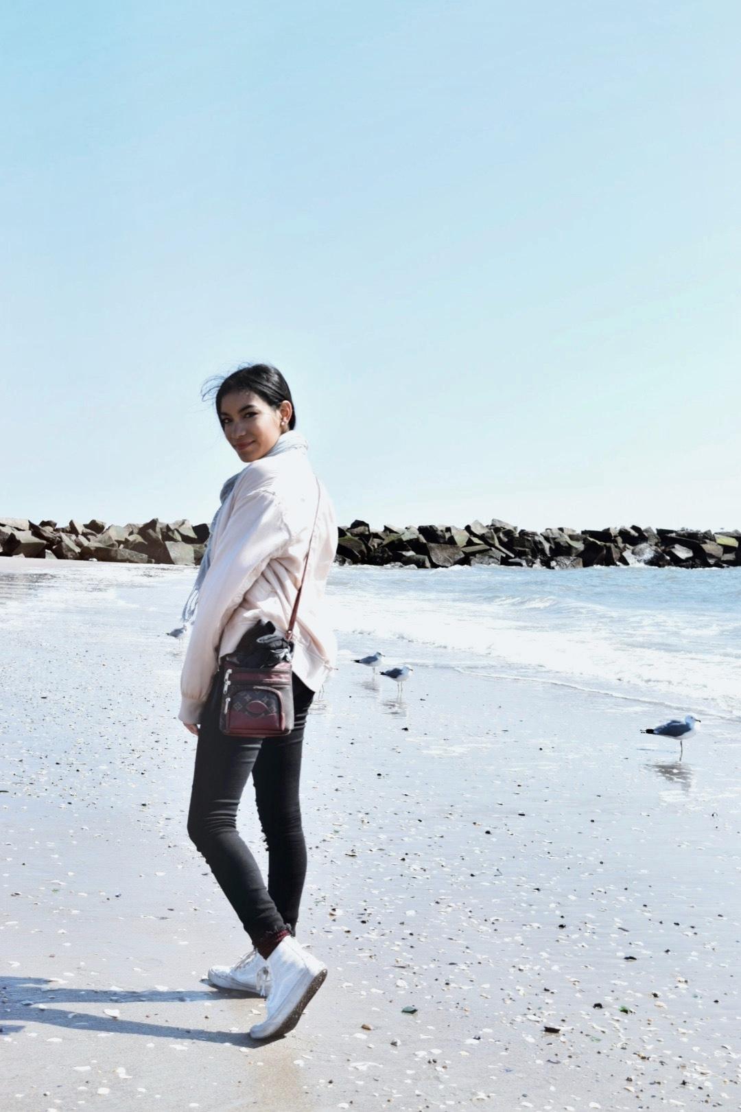 Coney Island fashion blog Samira navas