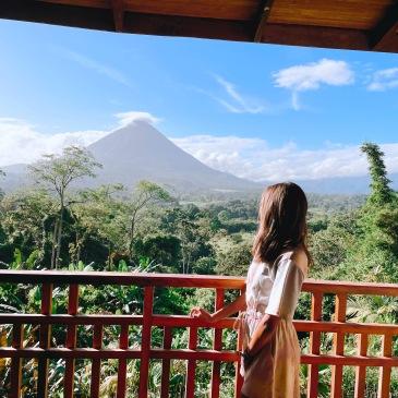 costa rica la fortuna nature trip volcano relaxing